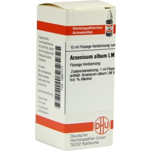 Abbildung: LM Arsenicum Album VI Dilution, 10 ml