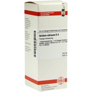 Abbildung: Acidum Nitricum D 4 Dilution, 50 ml