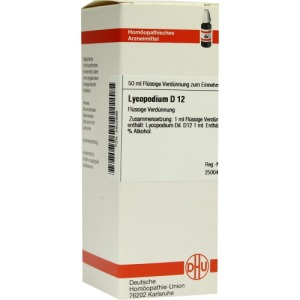 Abbildung: Lycopodium D 12 Dilution, 50 ml