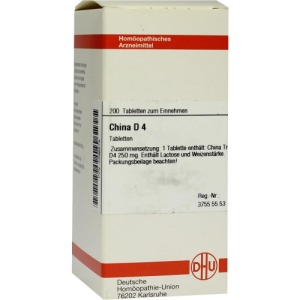 Abbildung: China D 4 Tabletten, 200 St.
