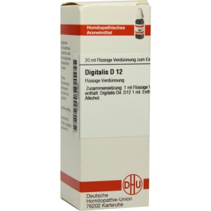 Abbildung: Digitalis D 12 Dilution, 20 ml