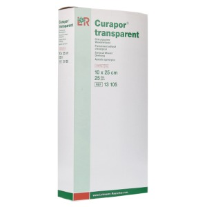 Abbildung: Curapor Wundverband Steril transparent 1, 25 St.