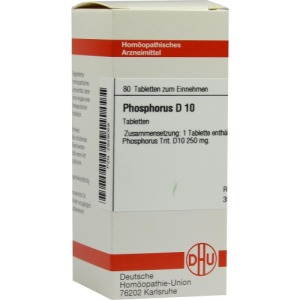 Abbildung: Phosphorus D 10 Tabletten, 80 St.