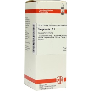 Abbildung: Sanguinaria D 6 Dilution, 50 ml