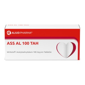 Abbildung: ASS AL 100 TAH Tabletten, 100 St