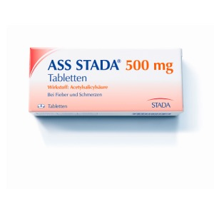 Abbildung: ASS STADA 500 mg, 100 St