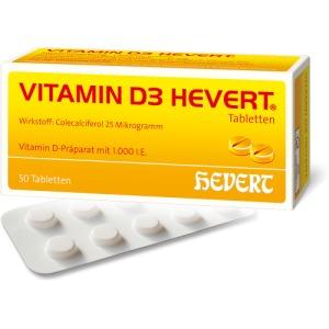 vitamin d3 hevert tabletten 50 st docmorris. Black Bedroom Furniture Sets. Home Design Ideas