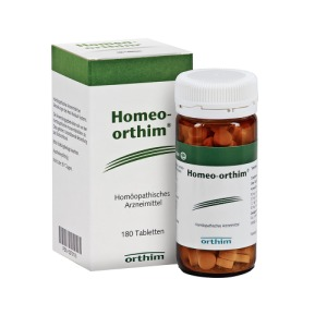 Abbildung: Homeo Orthim Tabletten, 180 St