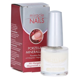 Abbildung: Miracle Nails Porzellan Minerallack, 8 ml