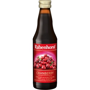 Abbildung: Rabenhorst Cranberry Muttersaft, 330 ml