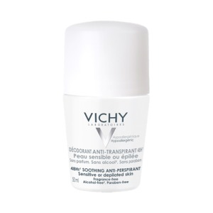 Abbildung: Vichy Deodorant Roll-On  Sensitiv Anti-Transpirant 48h, 50 ml
