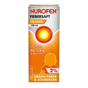 Abbildung: Nurofen Junior Fiebersaft Orange 2%, 100 ml