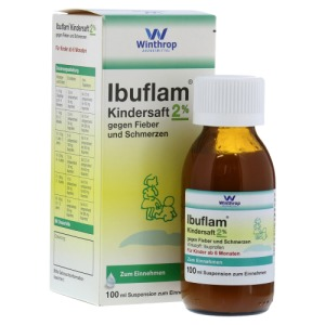 Abbildung: IBUFLAM Kindersaft 20mg/ml, 100 ml