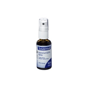Abbildung: Soventol HydroCort 0,5% Spray mit Hydrocortison, 30 ml