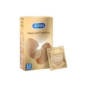 Abbildung: Durex Natural Feeling Kondome, 10 St