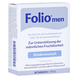 Abbildung: Folio men Tabletten, 30 St.