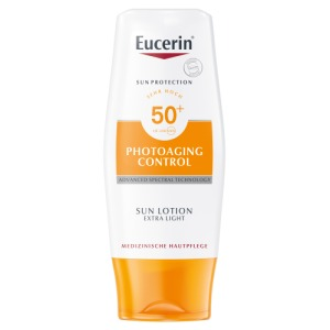 Abbildung: Eucerin Sun  Photoaging Control Lotion Extra Light LSF 50+, 150 ml