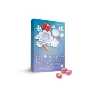 Abbildung: Bloom Beauty Essence night Spa Dragees, 14 St