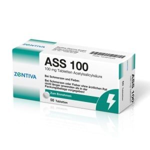Abbildung: ASS 100 Tabletten, 50 St.