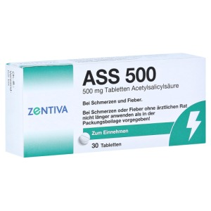 Abbildung: ASS 500 Tabletten, 30 St.