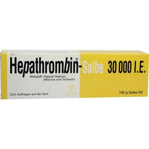 Hepathrombin Salbe 30.000 100 g