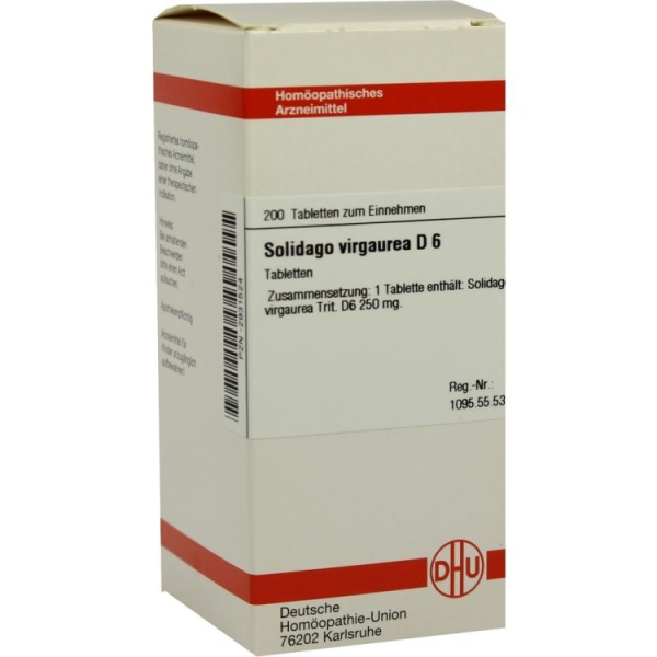 Solidago Virgaurea D 6 Tabletten 200 St