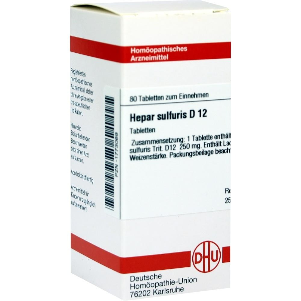 Hepar Sulfuris D 12 Tabletten