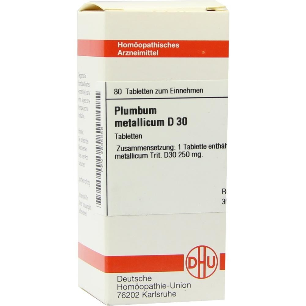 Plumbum Metallicum D 30 Tabletten