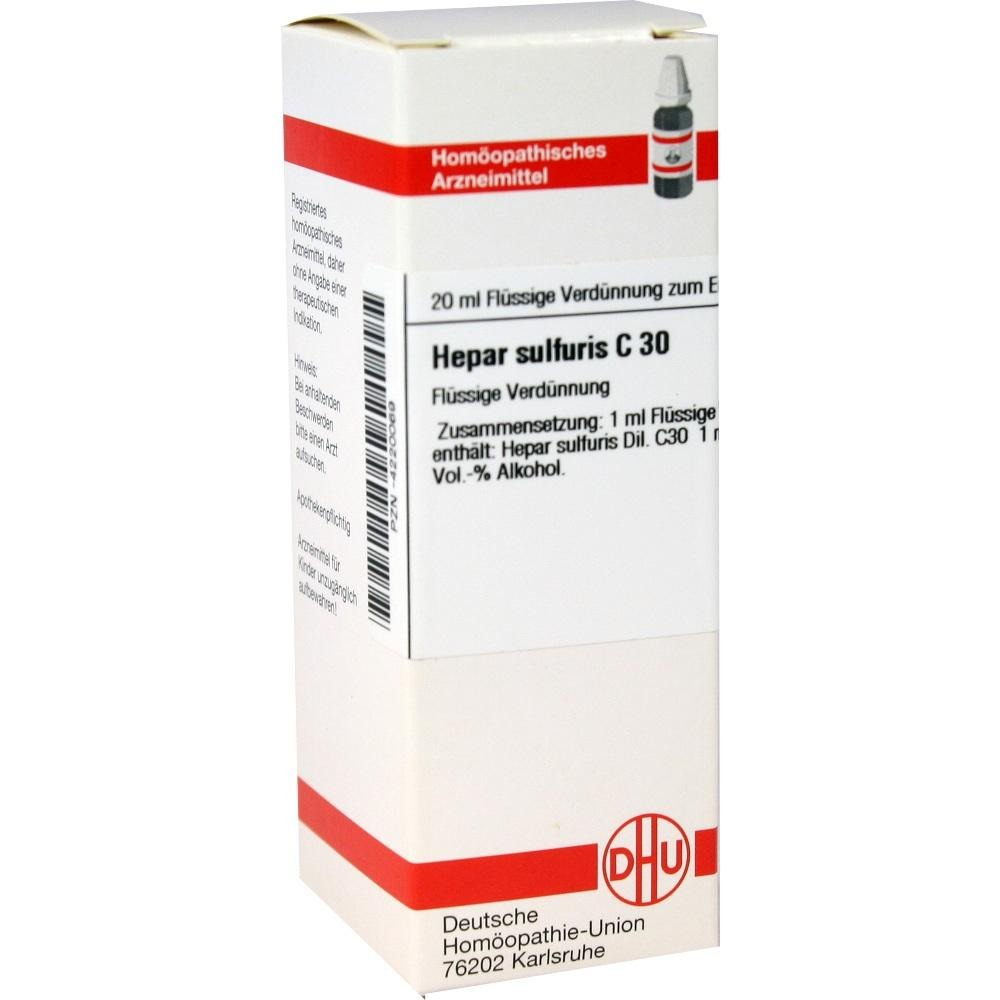 Hepar Sulfuris C 30 Dilution