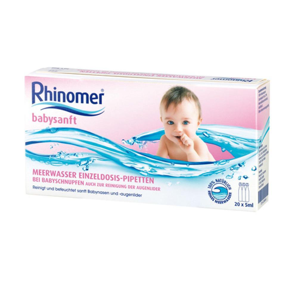 Rhinomer Babysanft Meerwasser 5ml Einzel