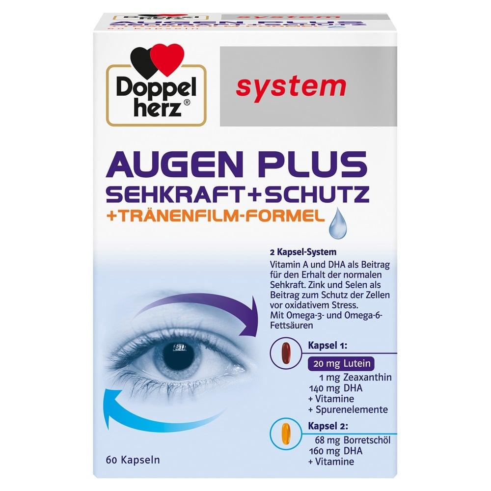 Doppelherz Augen plus Sehkraft+Schutz sy