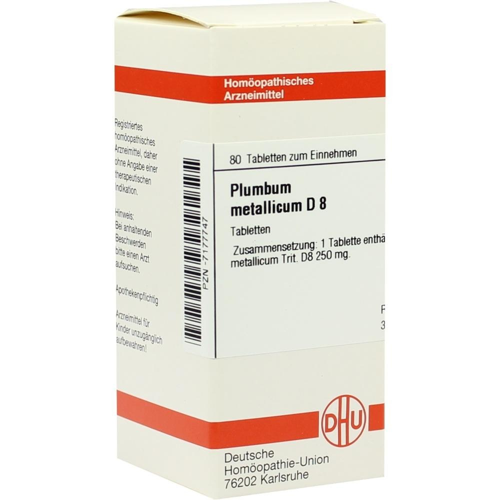 Plumbum Metallicum D 8 Tabletten